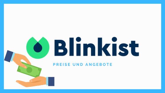 Preisdarstellung der Blinkist App